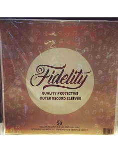 Fidelity Outer Sleeves Pack Of 50pcs