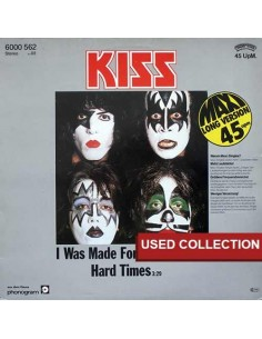 Kiss - I Was Made For Loving You (maxi single)