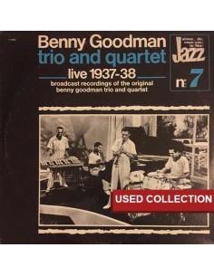 Benny Goodman Trio & Quartet - Live 1937-38