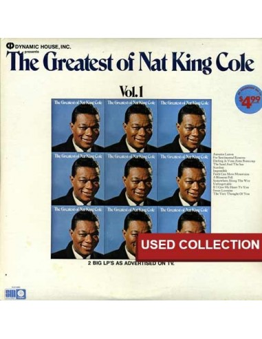 Nat King Cole - The Greatest Of Nat King Cole ( 2 LP )