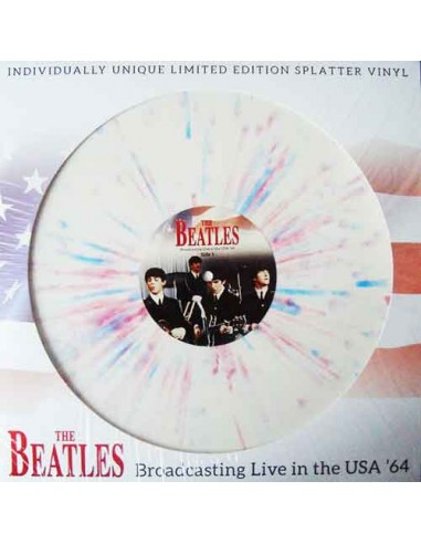 Beatles - Broadcasting Live In The Usa '64 (Splatter Disc)