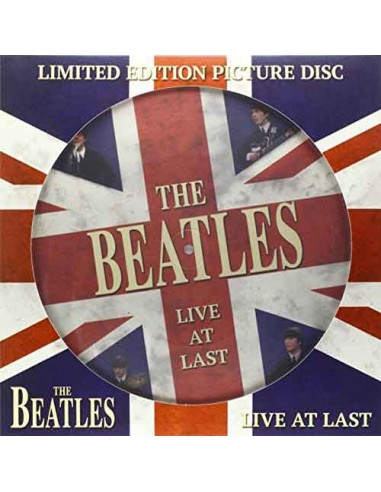 Beatles - Live At Last ( Picture Disc)