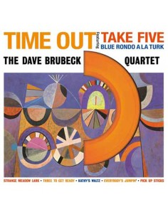 Dave Brubeck Quartet - Time Out - Coloured Vinyl