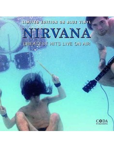 Nirvana - Greatest Hits Live On Air ( Blue Vinyl)