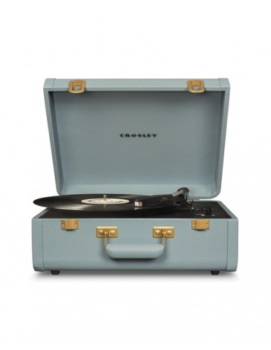 Crosley Portfolio Portable Turntable with Bluetooth - Tourmaline