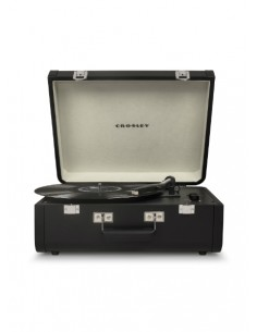 Crosley Portfolio Portable Turntable with Bluetooth - Black