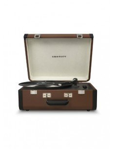 Crosley Portfolio Portable Turntable with Bluetooth - Brown/Black