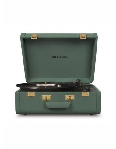 Crosley Portfolio Portable Turntable with Bluetooth - Quetzal