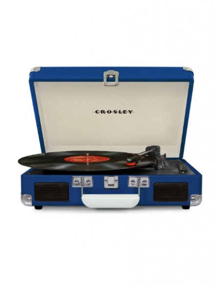 Cruiser Bluetooth Deluxe Turntable - Blue