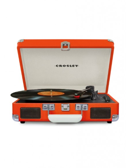 Cruiser Bluetooth Deluxe Turntable - Orange