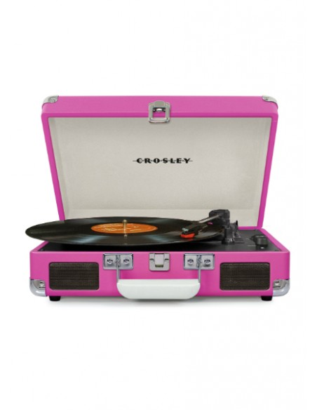 Cruiser Bluetooth Deluxe Turntable - Pink
