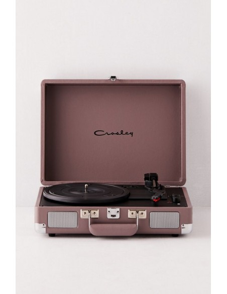 Cruiser Bluetooth Deluxe Turntable - Purple Ash