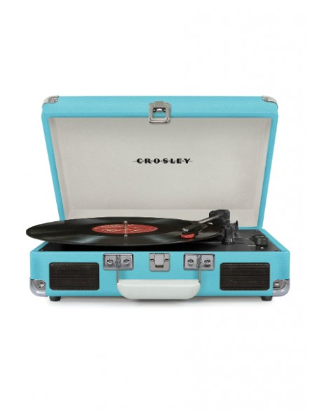 Cruiser Bluetooth Deluxe Turntable - Turquoise